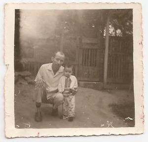 eu e papai